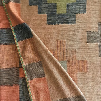 Anichini Kilim Handwoven Cashmere Throw