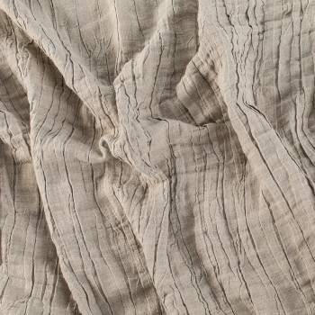 LINEN PLISSE FABRIC BY-THE-YARD