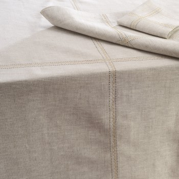 Anichini Sparkling Linen Table Linens