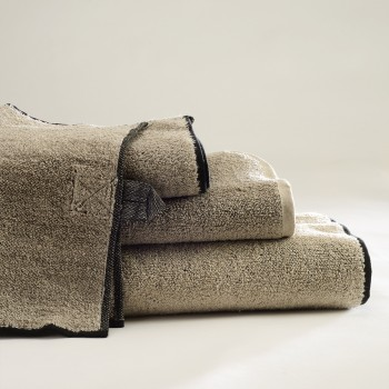 Vilnius Linen Terry Bath Towels