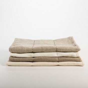 DONATAS LINEN BATH TOWELS