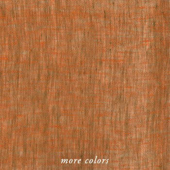LINEN MELANGE MESH FABRIC BY-THE-YARD