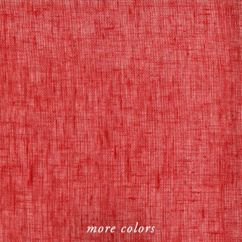 LINEN SOLID MESH FABRIC BY-THE-YARD