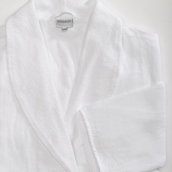 Anichini Senses Linen Terry Robe