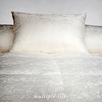 VIA SETE SILK GOOSE DOWN DUVETS
