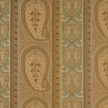 TAJ PAISLEY JACQUARD FABRIC BY-THE-YARD
