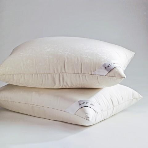 anichini via sete silk siberian goose down pillows