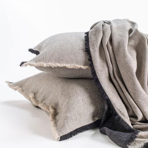 Anichini Linen Plissé Coverlets & Shams