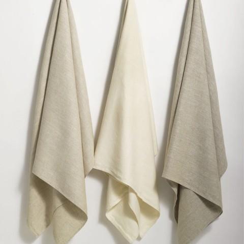 Anichini Donatas Flatweave Linen Bath Sheets