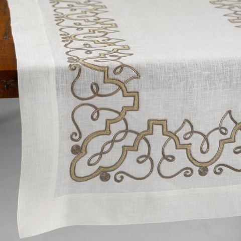 Anichini Moroccan Custom Made Italian Table Linens ...