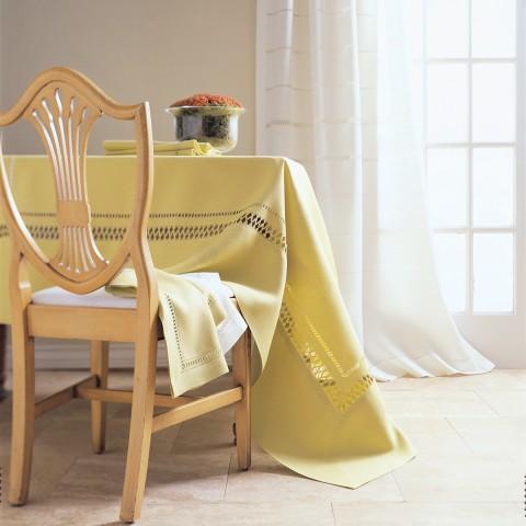 Anichini Grazuole Hand Finished Linen Table Linens