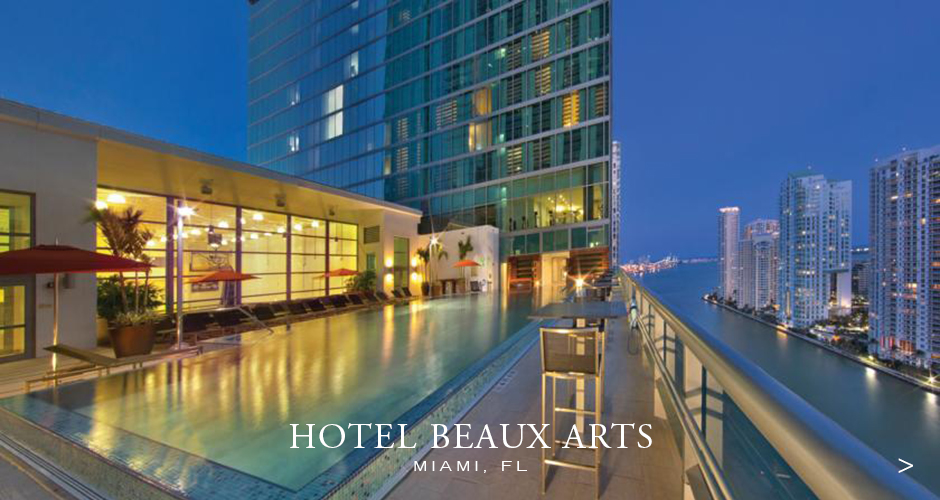 JW Marriott Hotel Beaux Arts Miami