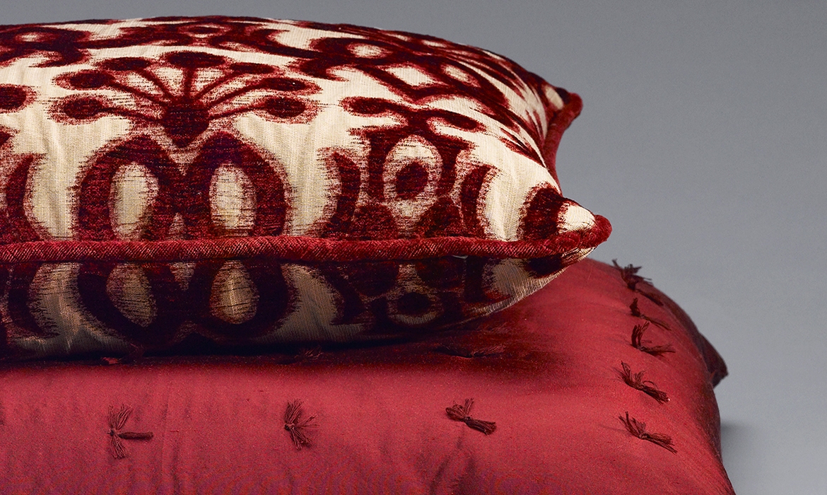 Anichini Chenille Decorative Pillows