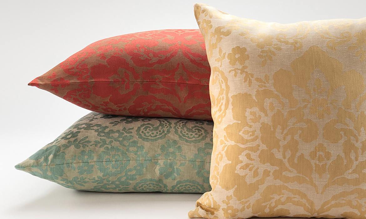 Anichini Jacquard Pillows