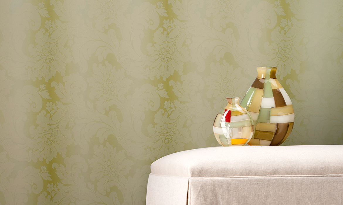 Anichini Romantic Wallcoverings: Luxury, Wide-Width, Environmentally-Friendly Designer Wallcoverings