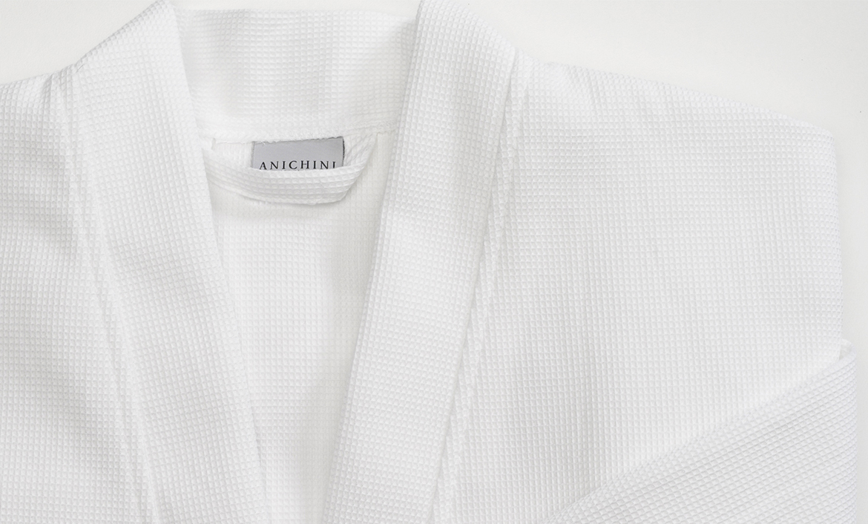 Anichini Lightweight Linen Waffle Weave Robes