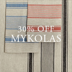 30% OFF Select Linen Towels
