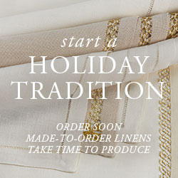 Holiday Table Linens: Set A Holiday Tradition