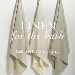 Linen Towels: A Noble Material, A Superior Towel. See Why