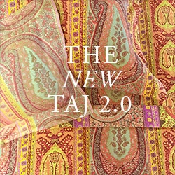 New Taj 2.0 Heavyweight Jacquard Coverlets and Shams