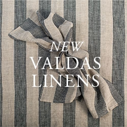 New Valdas Table Linens