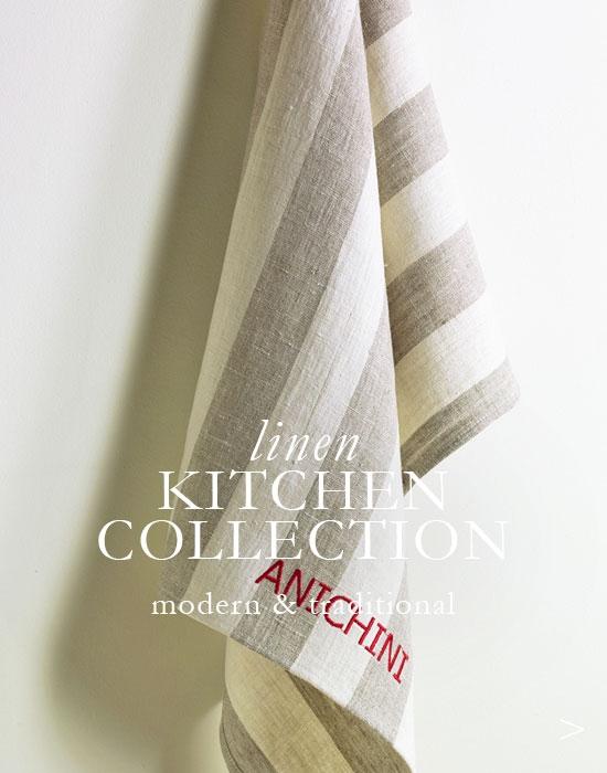 Linen Kitchen Linens