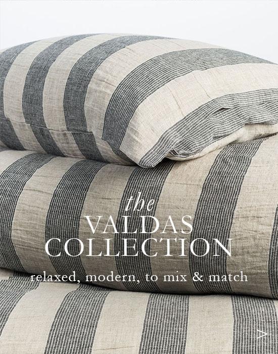 The Valdas Collection - Modern Linen Sheets