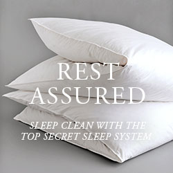 Rest Assured: Sleep clean with our Top Secret Sleep System