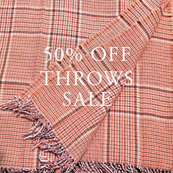 50% OFF Throws Sale